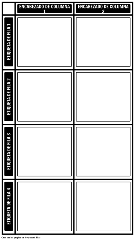 Gráfico en Blanco 2X4