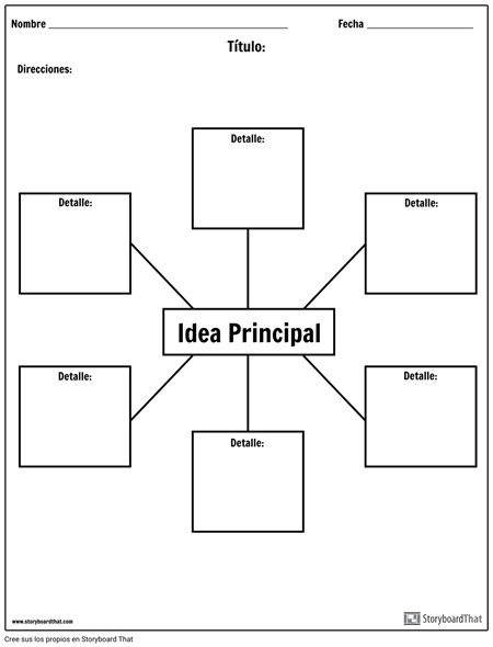 Idea Principal: Araña