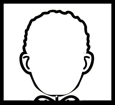 Impresión en Blanco de la Cara