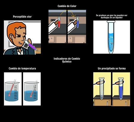 Indicadores de una Reacción Química