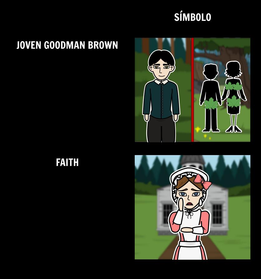 Jóvenes Goodman Brown Simbolismo y Alegoría