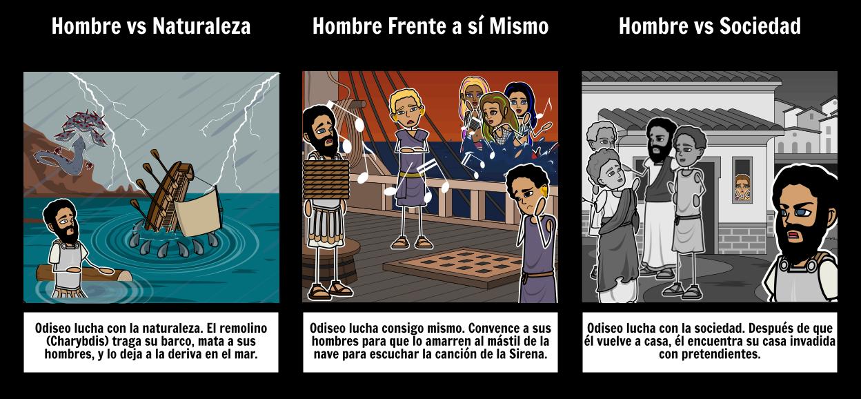 La Odisea - Conflicto Storyboard por es-examples