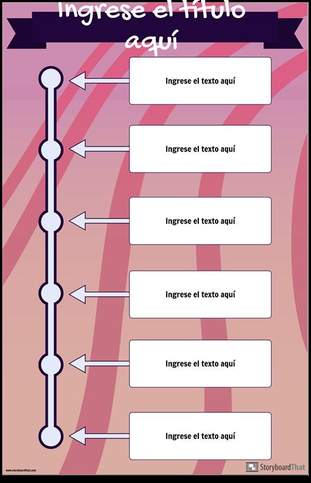 Línea de Tiempo Vertical 2