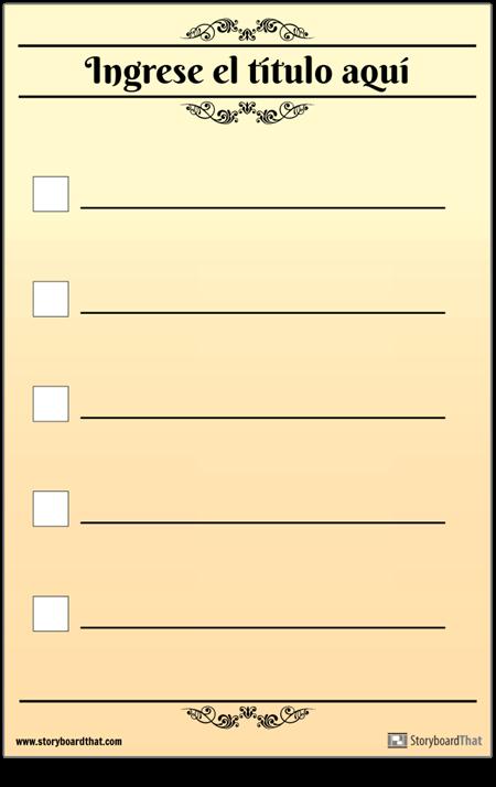Lista de Verificación Básica 5