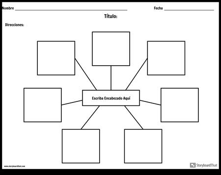 Estructura de la Tierra Storyboard por es-examples