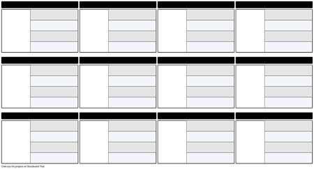 Mapa de caracteres 16x9 4 campos