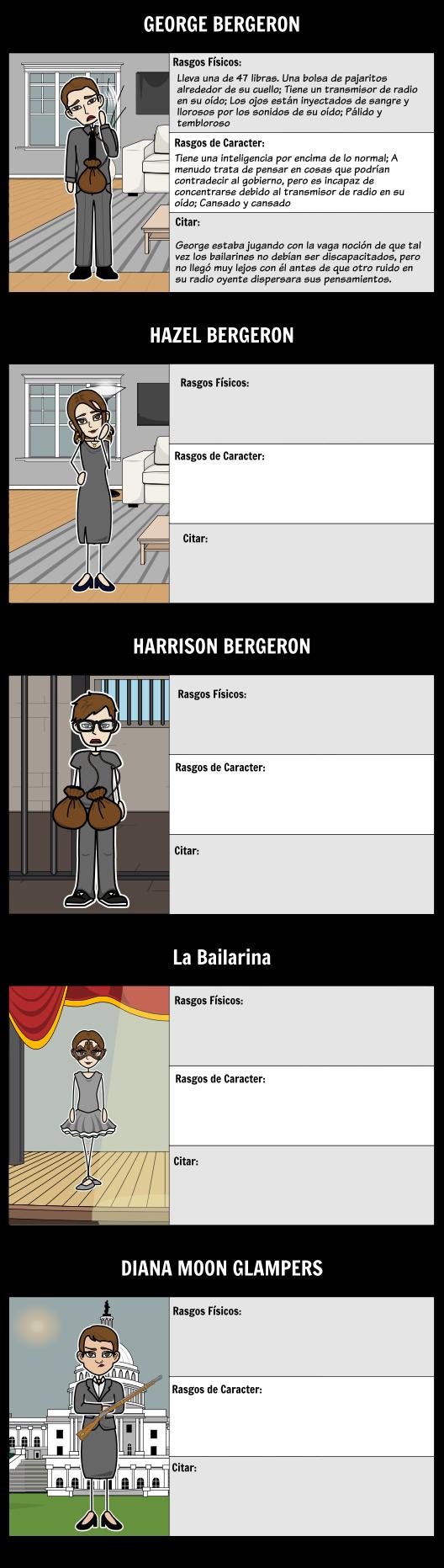 Mapa de Caracteres por Harrison Bergeron