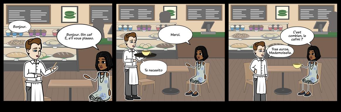 Ordenar Comida en Francés