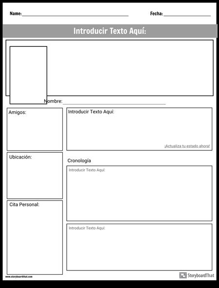 Página de Proyectos de Redes Sociales
