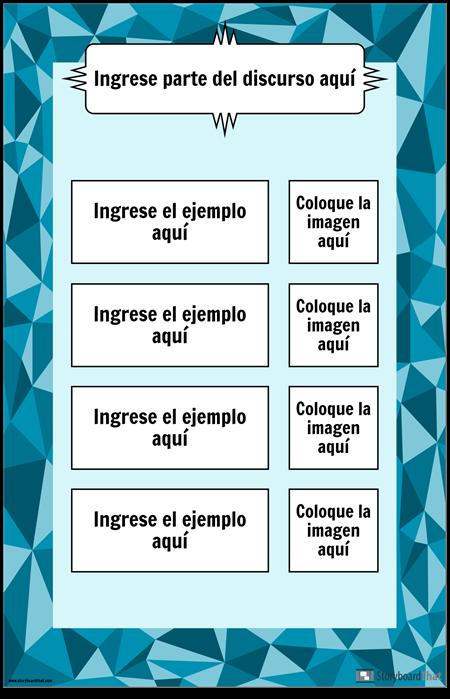 Parte del Cartel del Discurso
