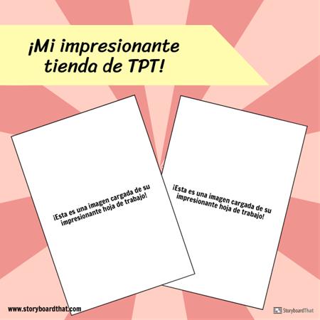 Plantilla de TPT de Instagram