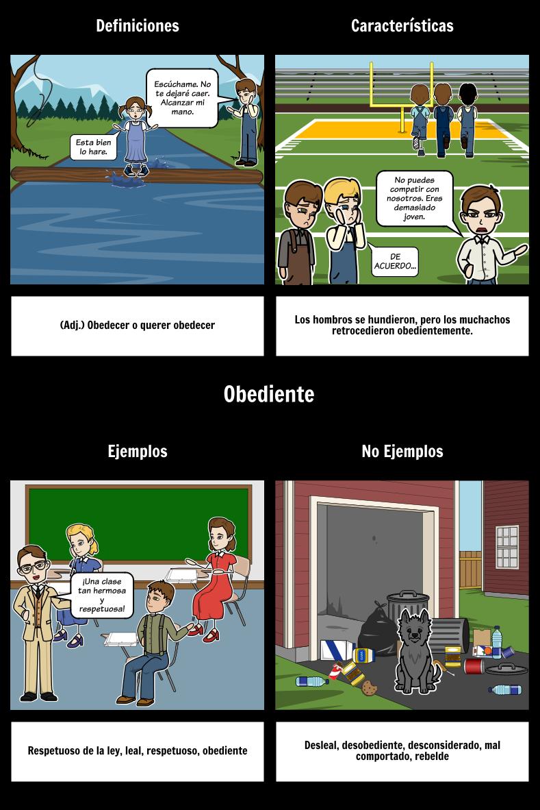 Puente Hacia Terabithia - Vocabulario