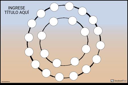 Tablero de Juego Circular