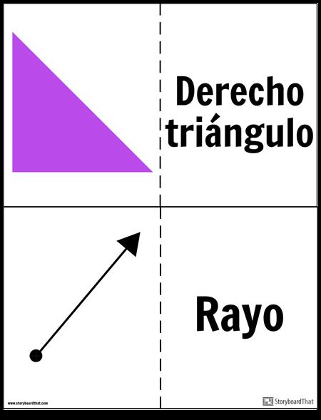 Tarjetas de Geometría