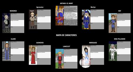 The Once and Future King - Mapa de Localización