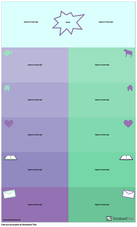 Versus Infographic
