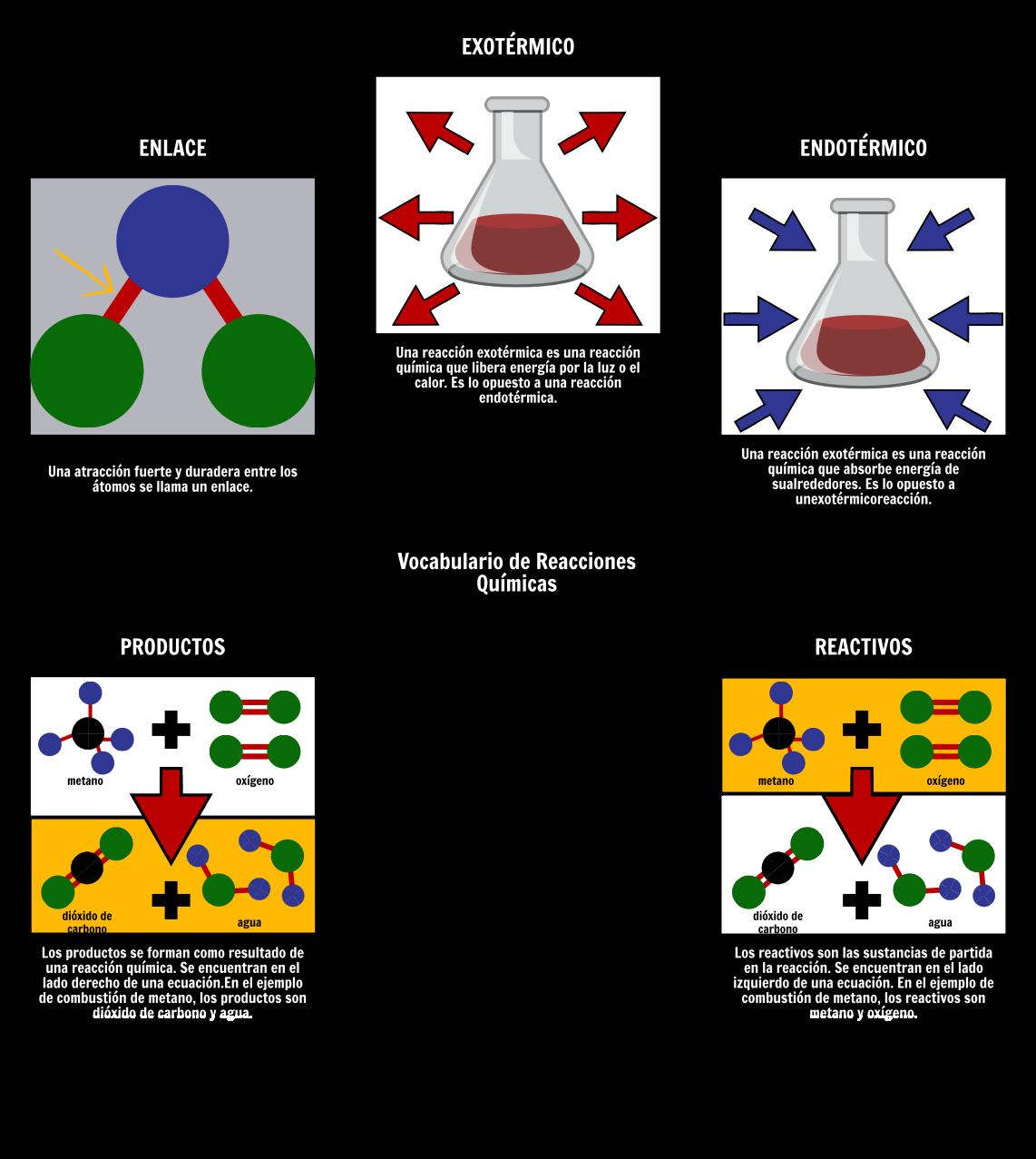 Guía y Actividades del Maestro de Reacciones Químicas