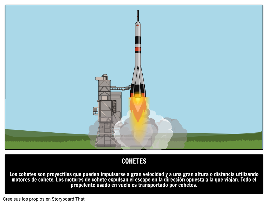 Vuelo Cohete