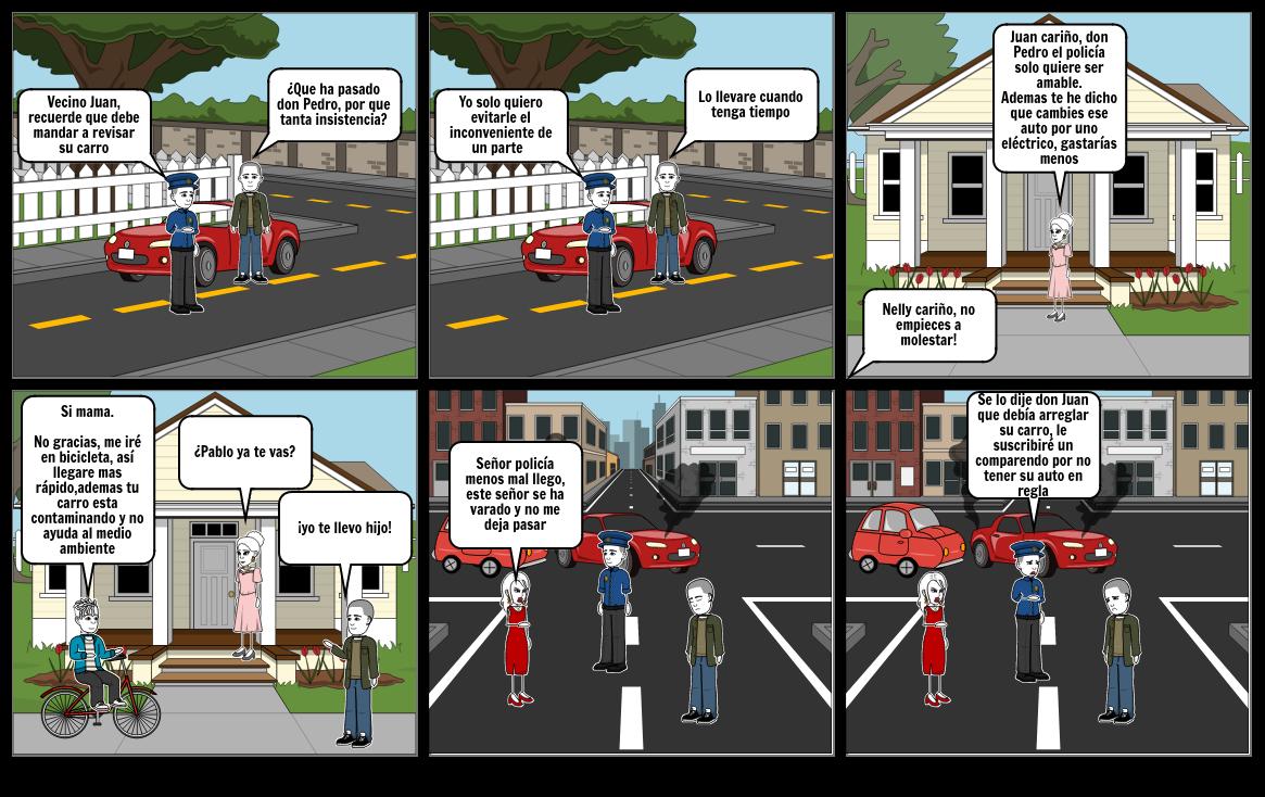 Movilidad sostenible Santi
