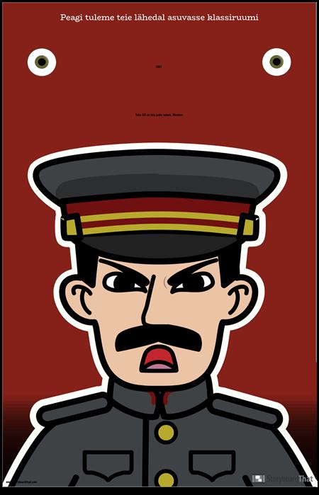 1984 ELA plakat