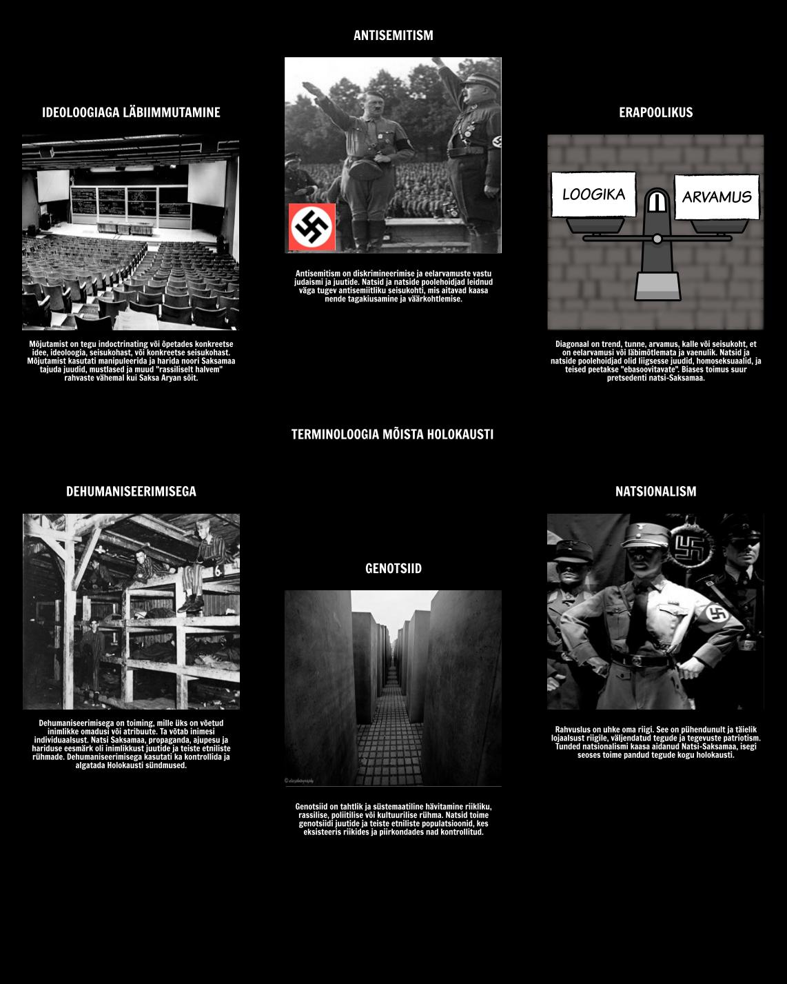 Ajalugu Holokausti - Terminoloogia Mõista Holokausti
