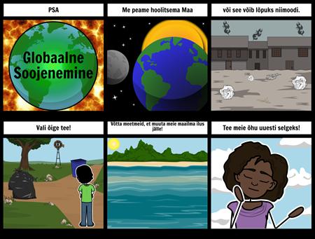 Avalik Teade - Globaalne Soojenemine