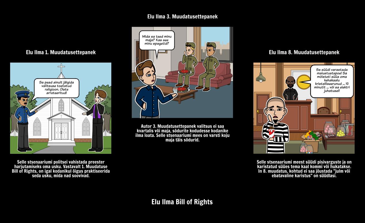 Bill of Rights - elu Ilma Selleta