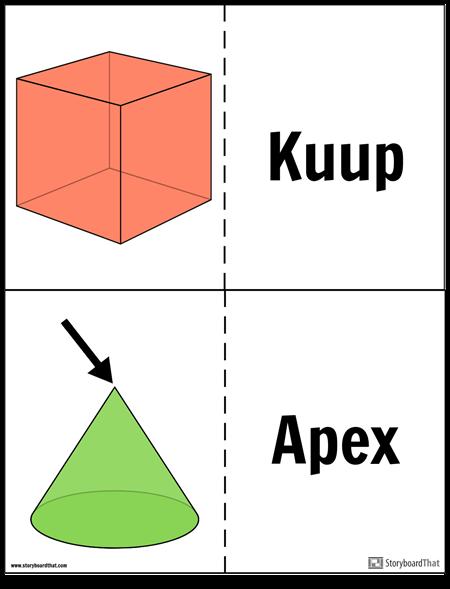 Geomeetrilised Tahked Välkmälukaardid
