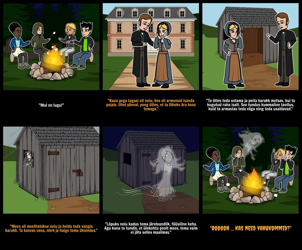 Halloween Tegevused - Scary Lugu