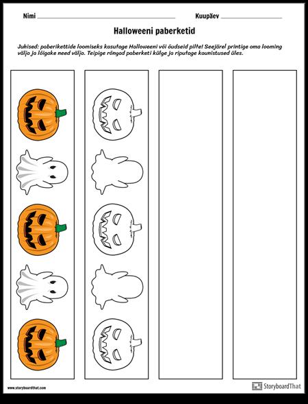 Halloweeni Paberketid