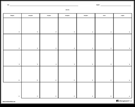 Kalender - 7 päeva