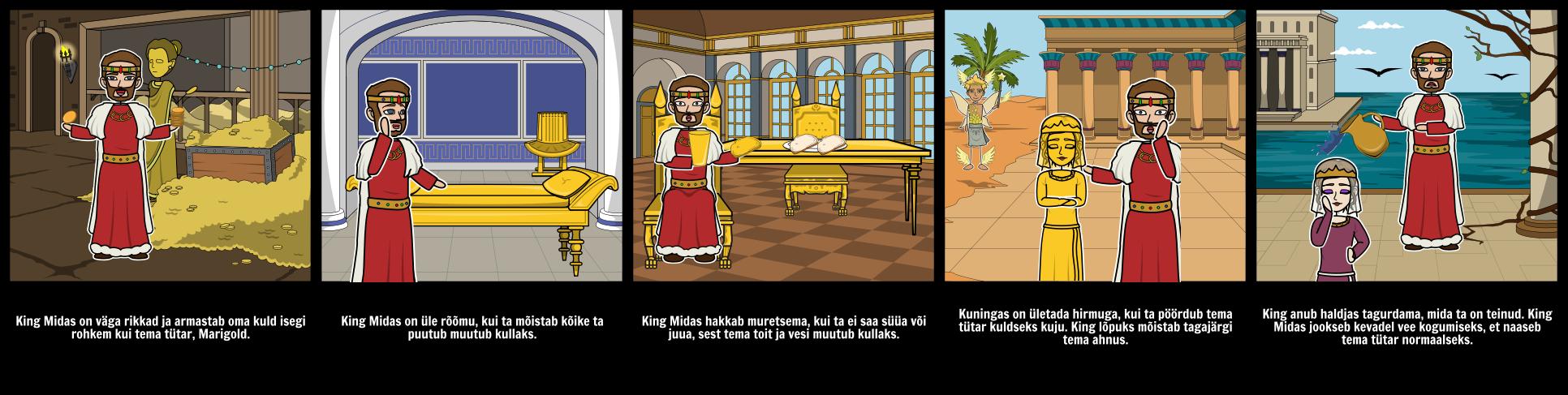 "King Midas ""Golden Touch Character Analüüs"