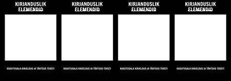 Kirjanduslikud Elements T-Chart