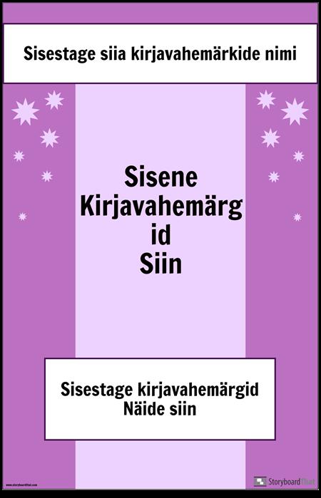 Kirjavahemärkide 2. Poster
