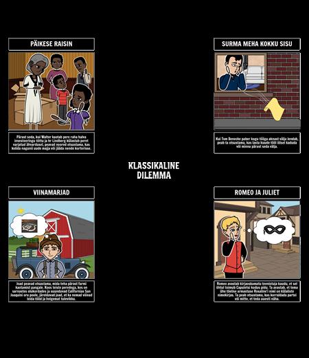 Klassikaliste Dilemmade Näited Kirjanduses