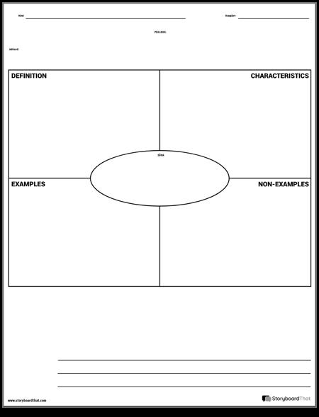 Sõnavara - Frayeri mudel koos kirjutamisega