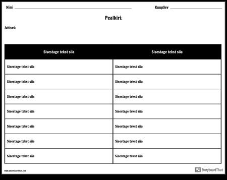 Tabel - 2 Veergu, 7 Rida