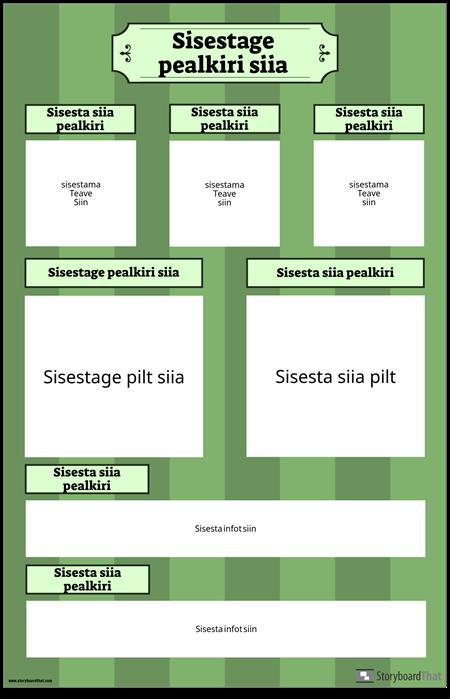 Teadusmessi Plakat Vertikaalne