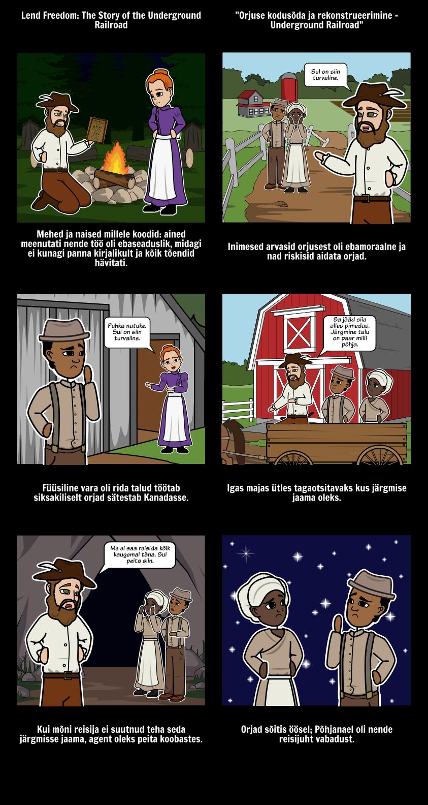 Underground Railroad - Integreerida Tekstid