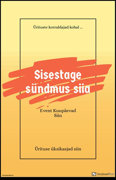 Ürituse Plakat 1