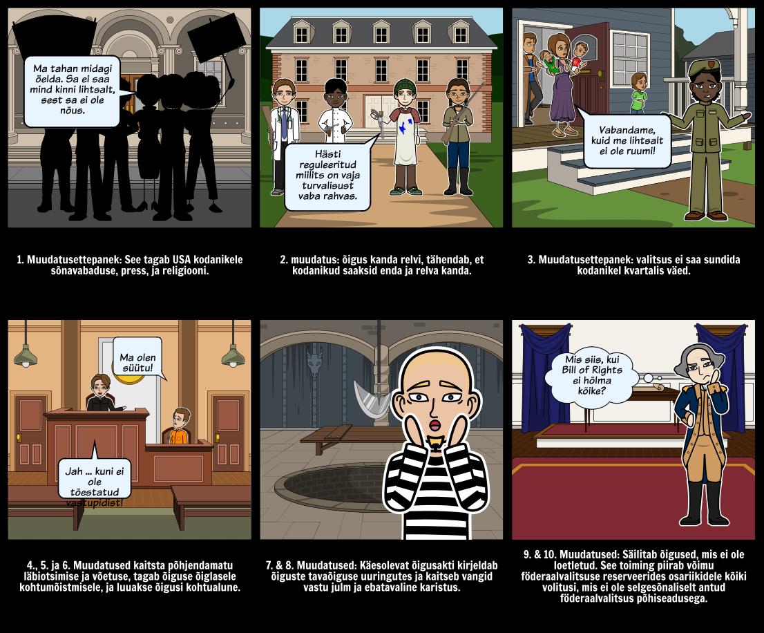 USA Ajalugu - Bill of Rights