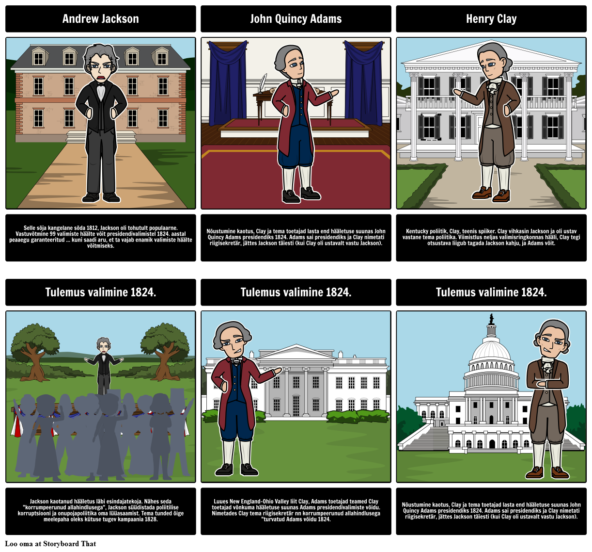 Valimiste 1824: korrumpeerunud Tehing