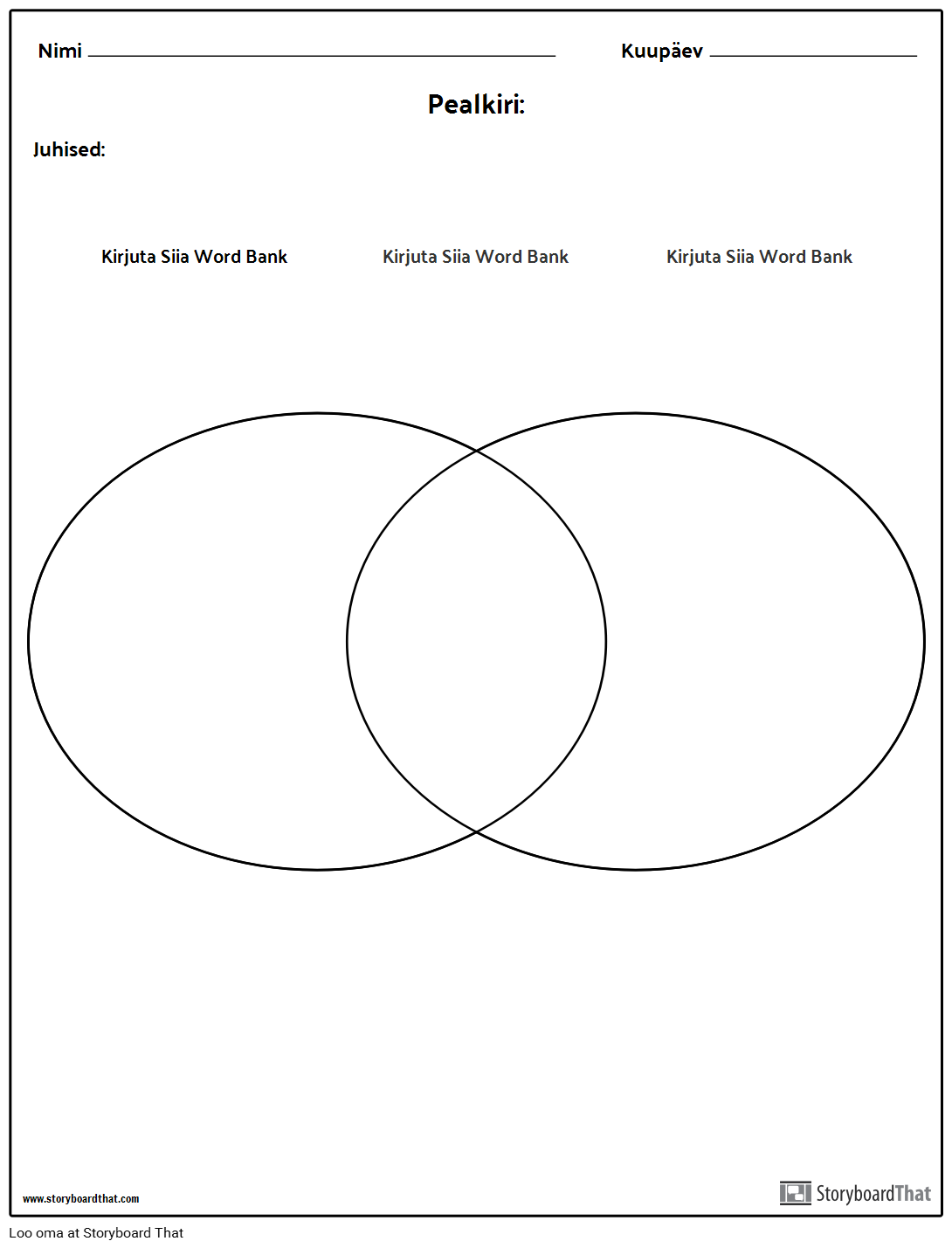 Venn diagram 2 storyboard by et examples venn diagram 2 ccuart Image collections