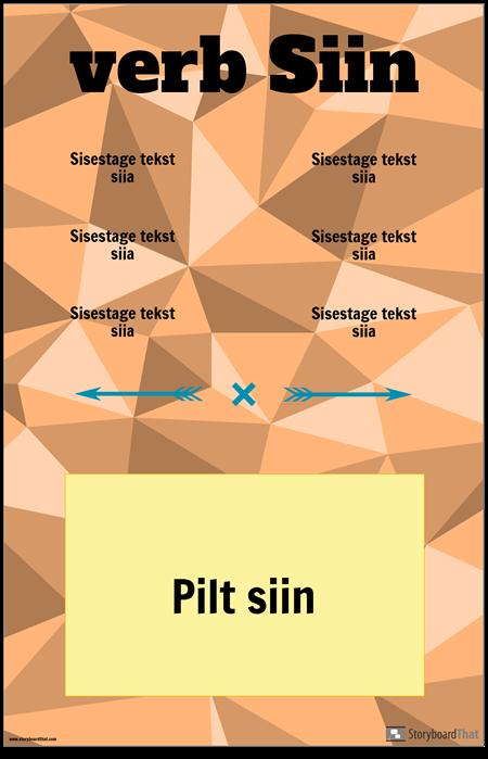 Verbi Vertikaalse Konjugatsiooni Poster