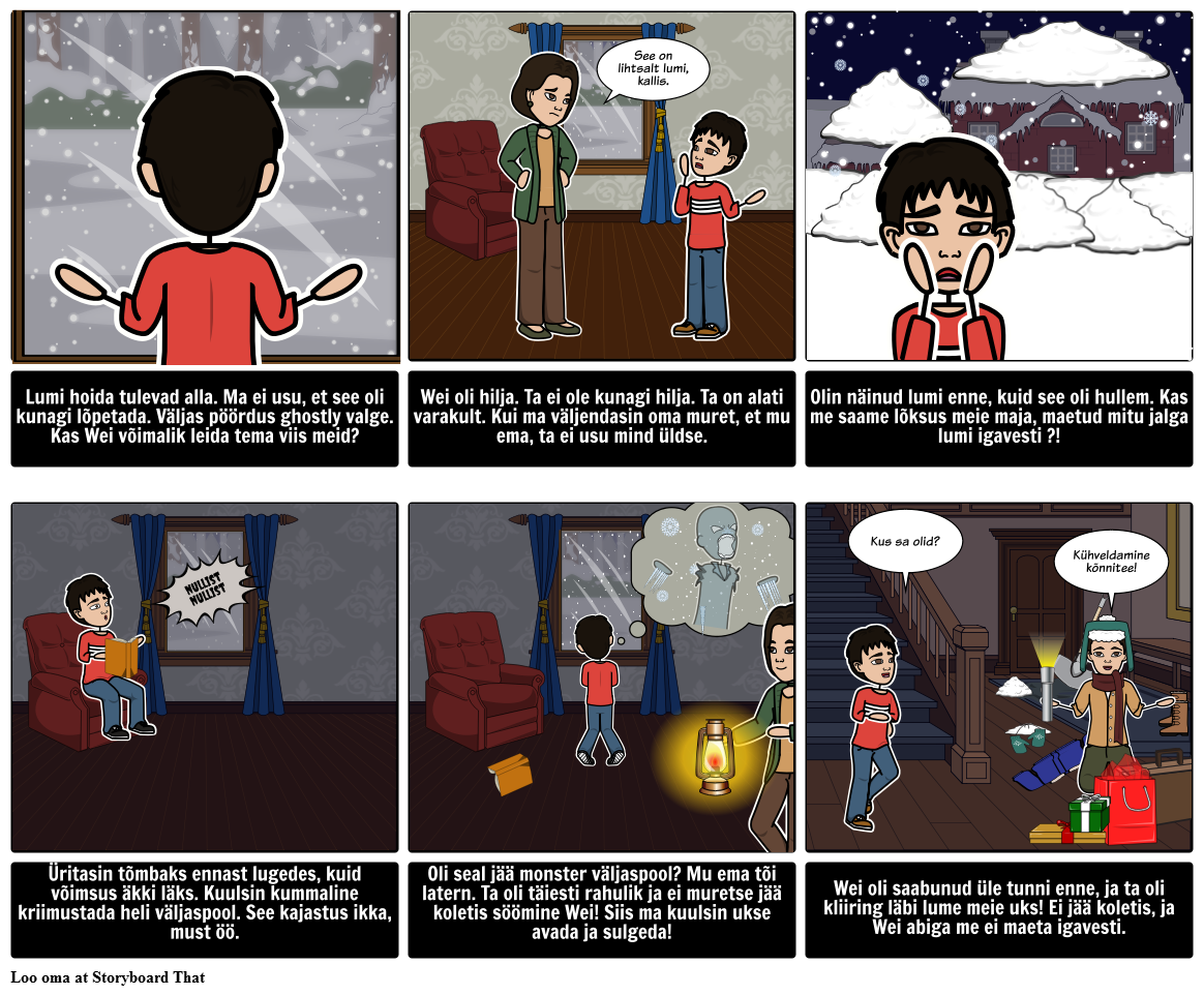 Winter Holiday - Story