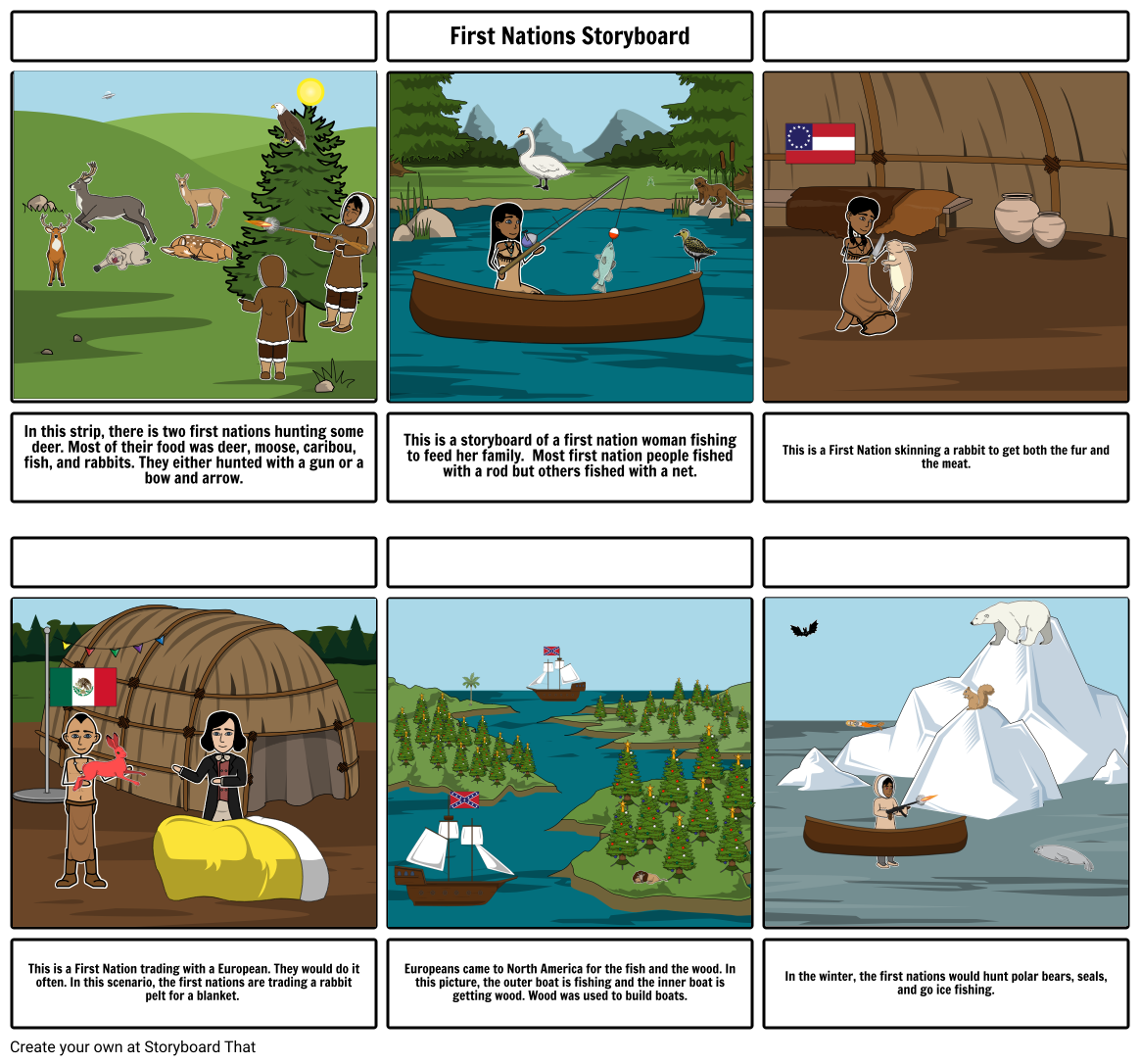 First nations storyboard