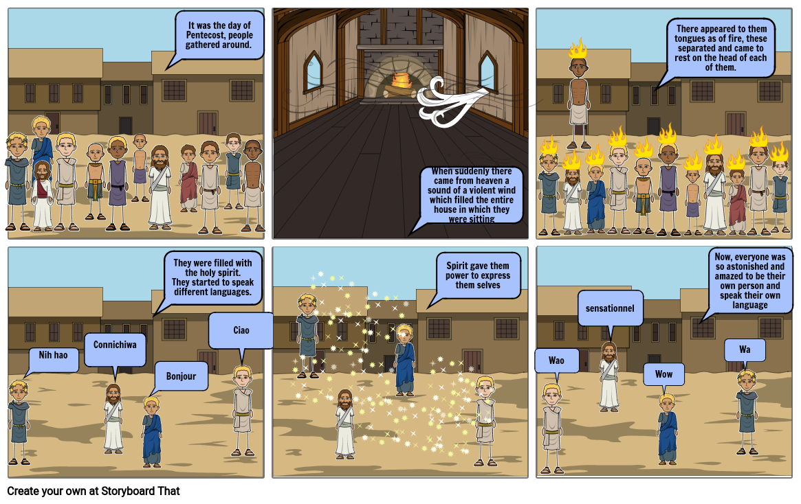 Religion Story Board Storyboard By Eve Gaudio