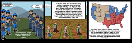 Social Studies (Causes of the Civil War)