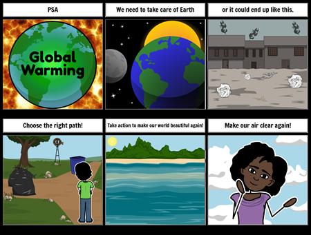 Public Service Announcement - Global Warming