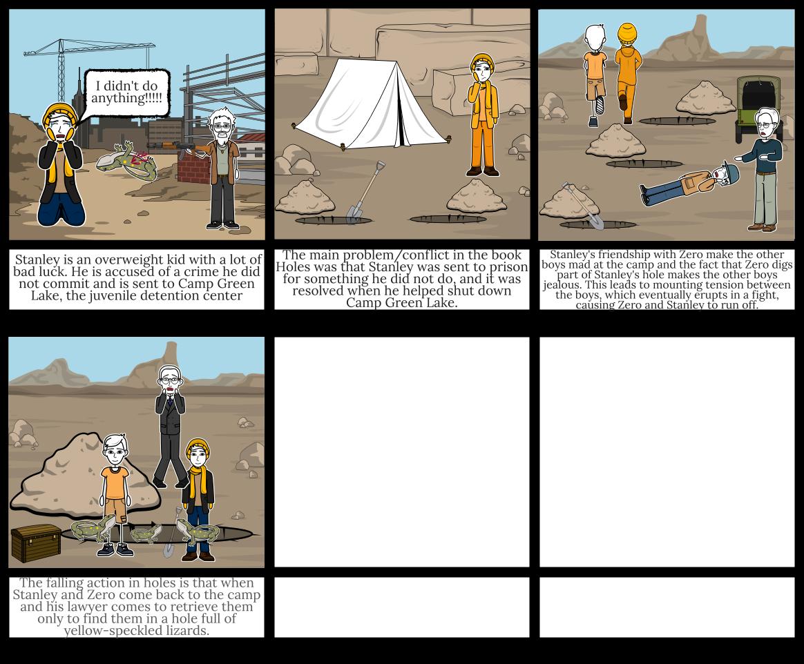 Holes StoryBoard